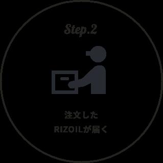 Step2.注文したRIZOILが届く